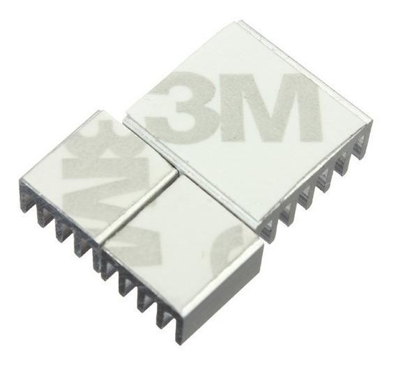 Dissipador De Calor Autoadesivo 3m Raspberry Pi 3 Unidades