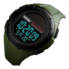 Relógio Esportivo Digital Skmei 1405 Bateria Solar + Brinde