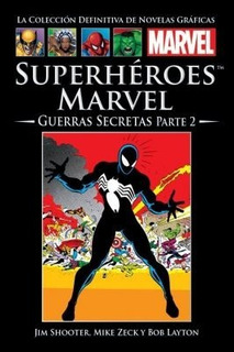 Marvel Salvat Vol.40-superhéroes Marvel: Guerras Secretas P2