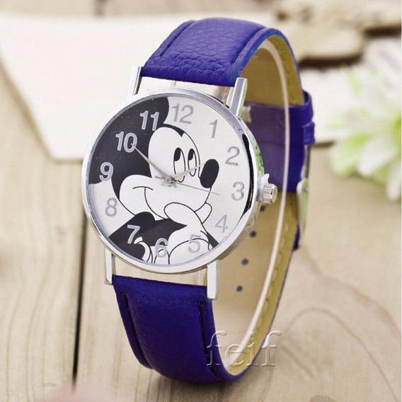 Relógio De Pulso Mickey Mouse Criança Adolescente 105