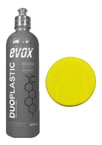 Imagem 1 de 1 de Restaurador De Plásticos Duoplastic Evox + Aplicador