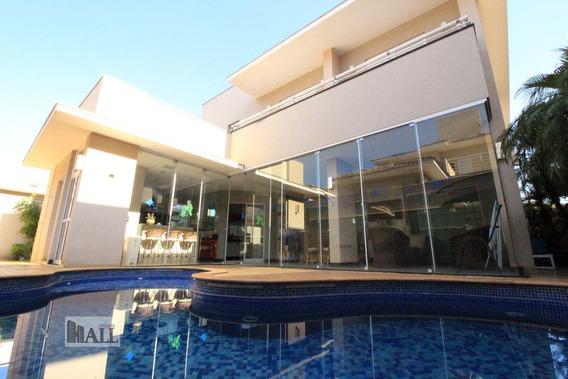 Casa Sobrado À Venda Cond. Parque Residencial Damha V Rio Preto - V6042