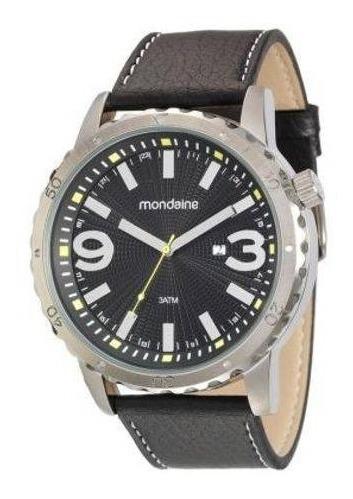 Relógio Mondaine Masculino Grande Puls.couro 53503g0mgnh1