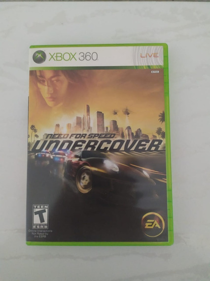 Jogo Need For Speed Undercover Mídia Física Xbox 360