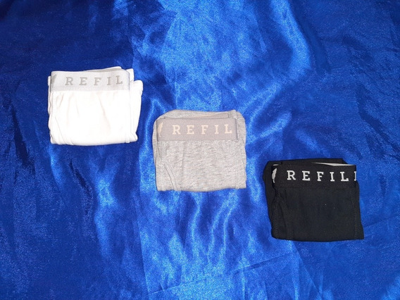 Set 3 Pack Boxers Refill Para Hombre