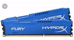 Memória Gamer Kingston Fury Hyperx 8gb Ddr3 1600mhz