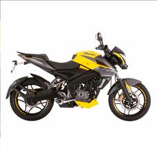 Moto Bajaj Pulsar Rouser Ns 200 Amarilla Naked Sport 0km