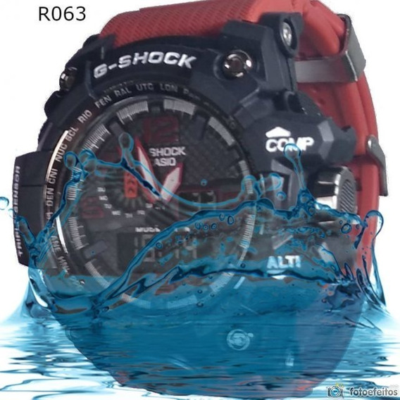 Ga-100 Relogio Masculino Resistente A Shock + Frete Barato