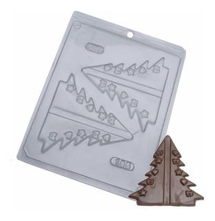 Forma Para Chocolate Árvore De Natal Ref. 185 - 5 Formas