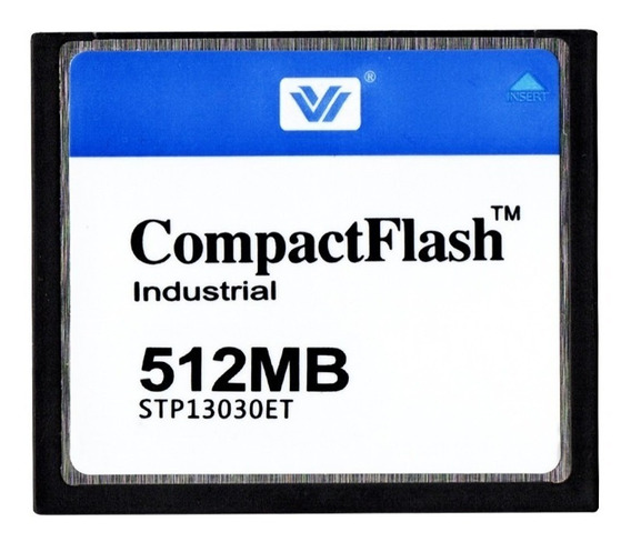 Cartão Compact Flash 512 Mb Industrial Stp13030et
