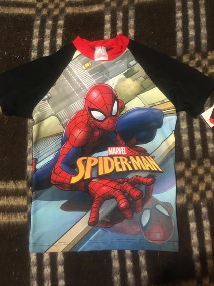 Playera Spiderman- Niño- Talla 6 Años