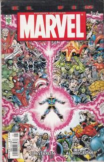 Comic Marvel Saga El Fin # 1 Editorial Vid Español