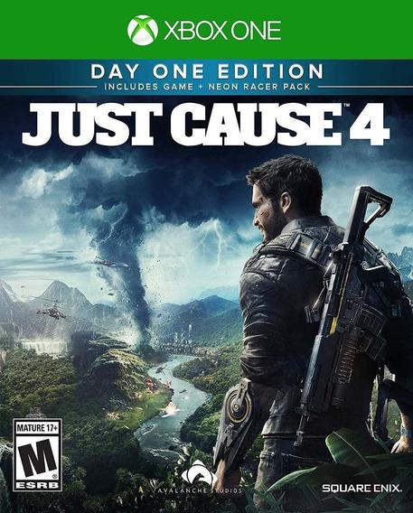 Jogo Midia Fisica Just Cause 4 Ediçao Day One Para Xbox One