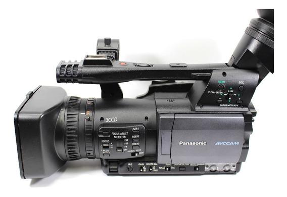 Filmadora Panasonic Ag Hmc 150 + Acessórios Bem Conservada!
