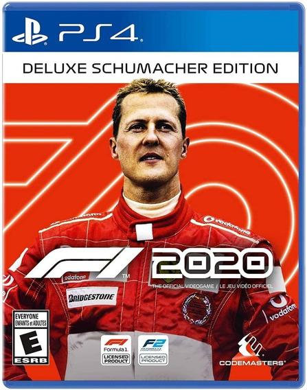 ..:: F1 2020 Deluxe Schumacher Edit ::.. Ps4 En Game Center