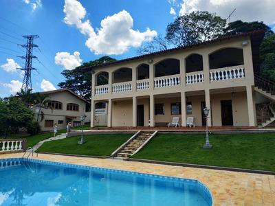 Chácara Com 6 Dormitórios À Venda, 2200 M² Por R$ 1.200.000 - Jardim Scala - Jundiaí/sp - Ch0018