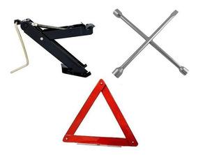 Kit Estepe P/ Autos - Macaco + Triangulo + Chave Blackfriday