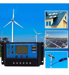 Controlador De Carga Solar Pwm Muy Facil De Usar!!!