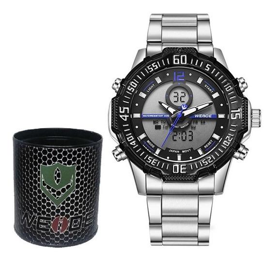 Relógio Masculino Weide Original Pesado Barato Dj0075