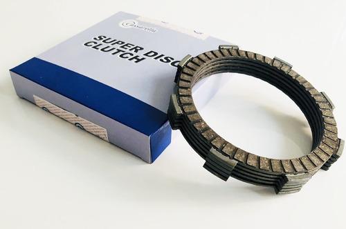 Kit Discos Clutch Cassarella Honda Cbf / Cd100 / Cb125 / Xl
