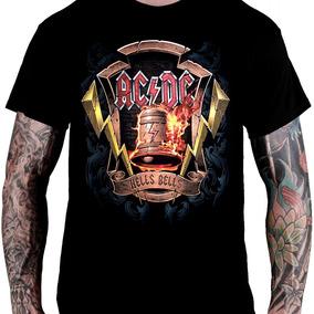 33de5116a6 Camiseta Ac dc Hells Bells - Calçados