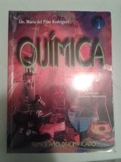 Libro De Química 4to Año Lic. Maria Del Pilar Rodriguez