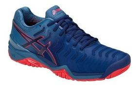 Tênis Asics Gel Resolution 7 Blue Print All Court Tennis