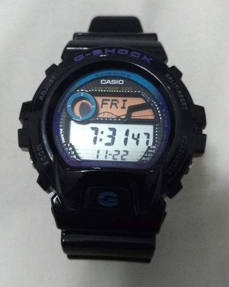 Relógio G-shock G-lide Glx69001dr Preto Usado