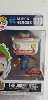 Funko Pop! The Joker Súper Heroes 273 Special Edition