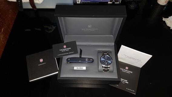 Reloj Victorinox Alliance Con Navaja Suiza Pioneer