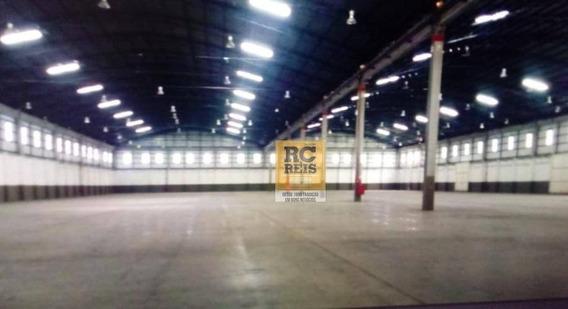 Galpão Para Alugar, 10000 M² Por R$ 170.000/mês - Jardim Alvorada - Jandira/sp - Ga0143