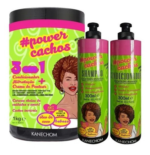 Kit Power Cachos 3 En 1 - mL a $15