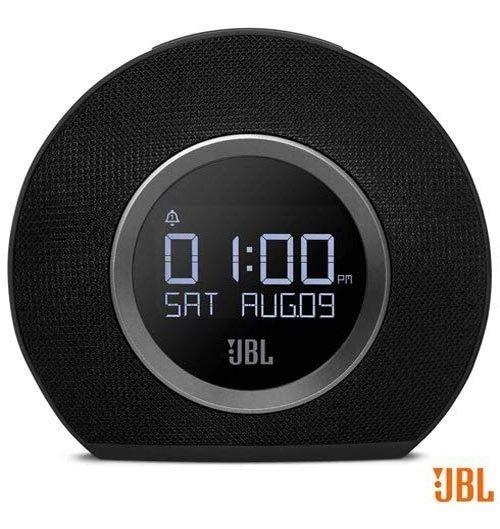 Rádio Relógio Jbl Usb Bluetooth Fm Despertador Horizon