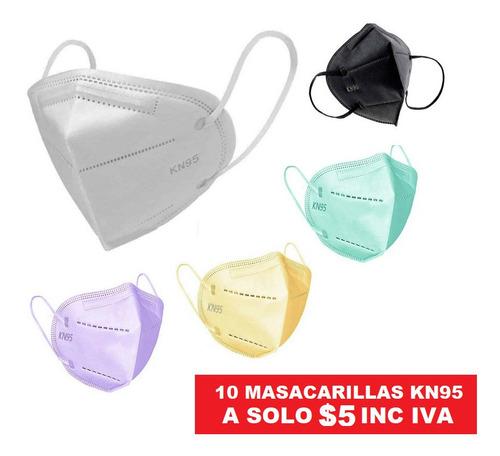 Mascarilla Kn95 A $0,50 Y Quirurjicas A $2,99 La Caja