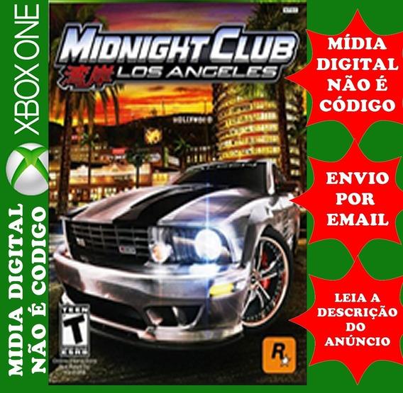 Midnight Club Los Angeles Midia Digital Xbox One
