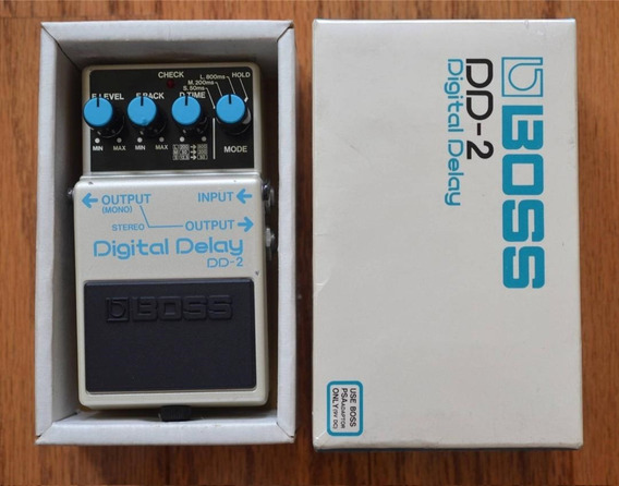 Pedal Boss Dd-2 Japan - Com Caixa Original