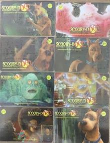 Serie Completa Scooby Doo2 Vhs/dvd - 17 Cartões - Telefonica