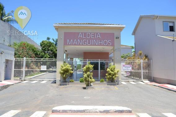 Casa Duplex 3 Quartos No Condomínio Aldeia Manguinhos - Ca0126