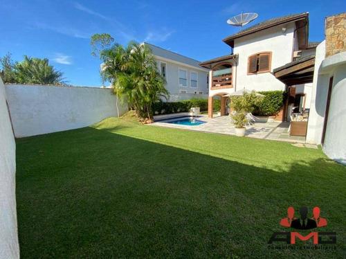 Imagem 1 de 30 de Casa Com 4 Dormitórios À Venda, 350 M² Por R$ 3.900.000,00 - Riviera - Módulo 3 - Bertioga/sp - Ca1030