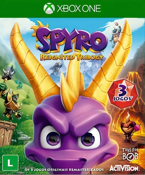 Spyro Reignited Trilogy - Xbox One - Mídia Digital - Dublado