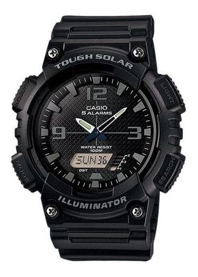 Relógio Casio Tough Solar Aq-s810w-1a2v Hora Mundial