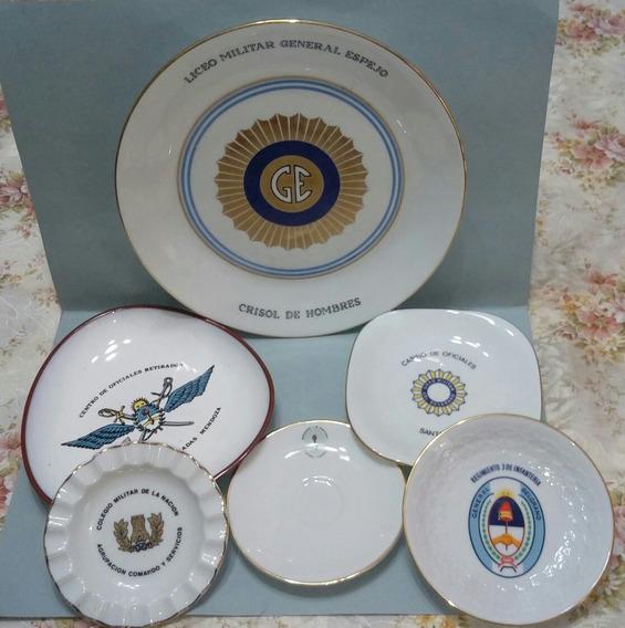 6 Platos Militares.