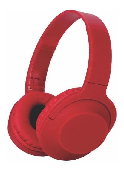 Fone De Ouvido Com Fio Pisc 1899 - Vermelho