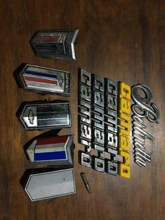 Insignias Chevrolet Camaro, Originales, Usadas.