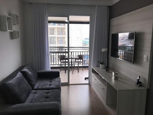 Imagem 1 de 12 de Apartamento Para Venda, 1 Dormitório(s) - 9284