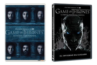 Game Of Thrones Temporadas 6 Y 7 Series Dvd Juego De Tronos