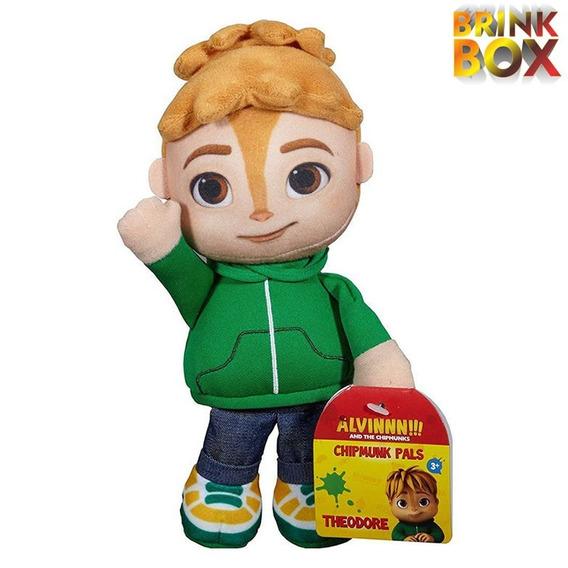 Pelúcia Alvin E Os Esquilos Theodore - Original Mattel