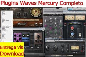 Pacote Plugins Waves Mercury Completo