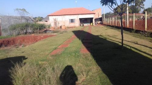 Chácara Com 2 Dormitórios À Venda, 1000 M² Por R$ 300.000,00 - Santo Antonio - Cosmópolis/sp - Ch0507