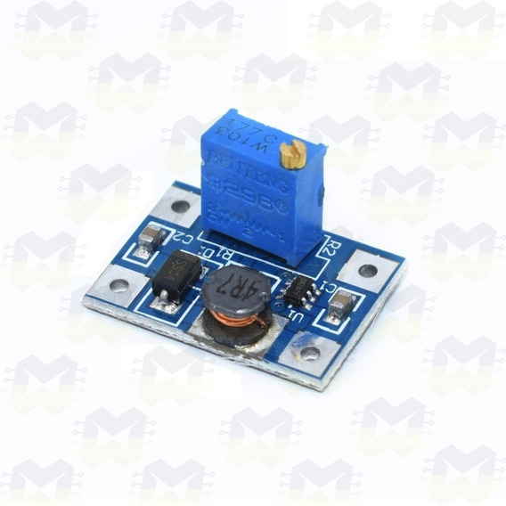 Módulo Regulador De Tensão Ajustável Step Up Dc-dc - Sx1308